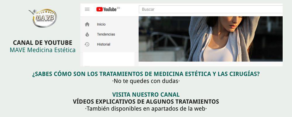 Vídeos de medicina estética MAVE y de cirugía estética