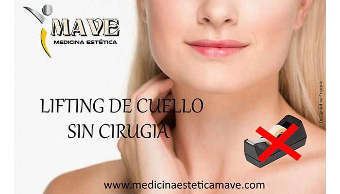 Lifting de cuello sin cirugía en Zaragoza